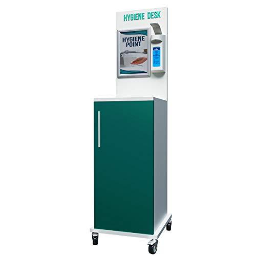Hygiene-Station | Cupboard | Desinfektion Desinfektionswagen Desinfektionsspender