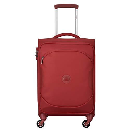 DELSEY PARIS U-LITE CLASSIC 2 Equipaje de mano, 55 cm, 37 liters, Rojo (Rouge)