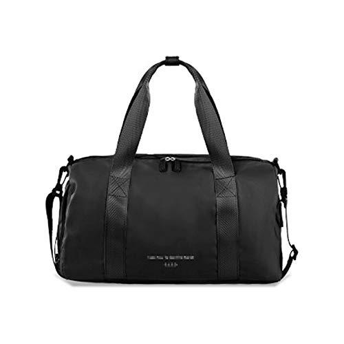 ATRNA Bolsa Deporte, Impermeable Macuto con Compartimento para Zapatos de Gimnasio, Viaje, Gym, Fitness, Sport Duffel Bag