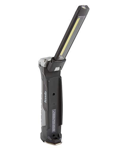 kwb Akku Inspektions-Leuchte mit COB + LED Technik, Klapp-Funktion, 2000 mAh Li-Ion Batterie, ANSI FL 1 - Standard, Lampe mit 7 Leucht-Modi