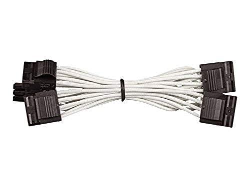 Corsair Internal Black Power Cable 4pin Molex, Female/Female, RMi series, RMx series, SF Series, Corsair Type 4 PSU, Blu