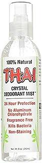 Thai Deodorant Stone Crystal Mist Natural Deodorant Spray 8 oz. (Single)