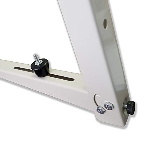 Outdoor Mounting Bracket for Ductless Mini Split Air Conditioner Heat Pump Systems, Universal, 9000-36000 Btu Condenser