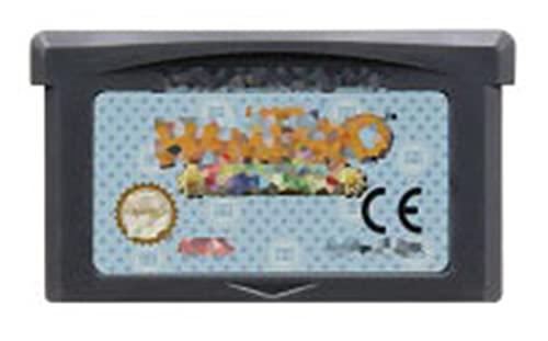 TYLJ MYBHD Cassette de Videojuegos de 32 bits con Tarjeta de Consola para Nintendo GBA AVG Adventure Game Series (Color : Hamtaro Rainbow...