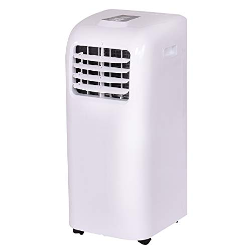 GOFLAME 10000BTU Air Conditioner Portable, Standing Room AC Unit with Remote Control and LED Display, Built-in Dehumidifier, Fan Mode, Window and Wall Mount