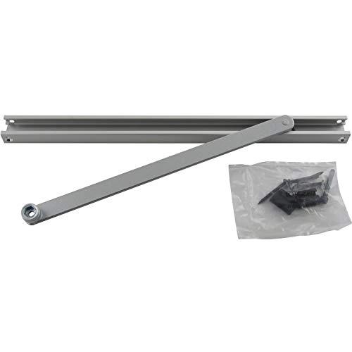 GEZE glijrail zonder bevestiging, TS 3000/5000, 1 stuks, zilver, 4106030682219
