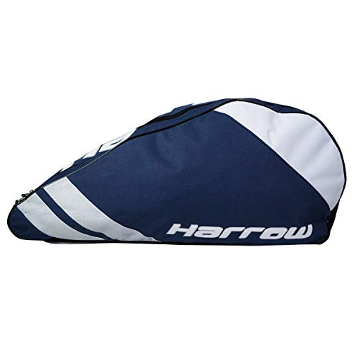 Harrow Ace Pro Racquet Shoulder Bag - Tennis, Squash, 3 Racquet Bag