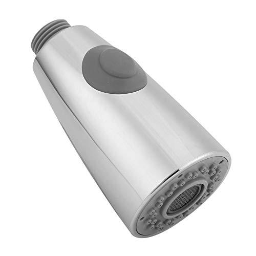 Yosoo Grifo de rociador de Cabezal Cocina de baño Pull-out Spray Head reemplazo de la Parte Ahorro de Agua Bubbler Anti-Splash Cromo Pulido