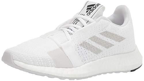 adidas Originals SenseBOOST GO, Zapatillas para Correr Hombre, Blanco, Gris, Negro, 38 EU