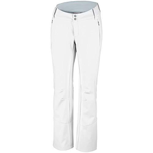 Columbia 1761411, Pantaloni da Sci Donna, Bianco (Bianco), W42/R