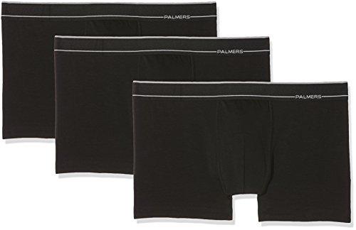 Palmers Herren Sport Cotton Pants 3er Pack Boxershorts, Schwarz (Schwarz 900), X-Large