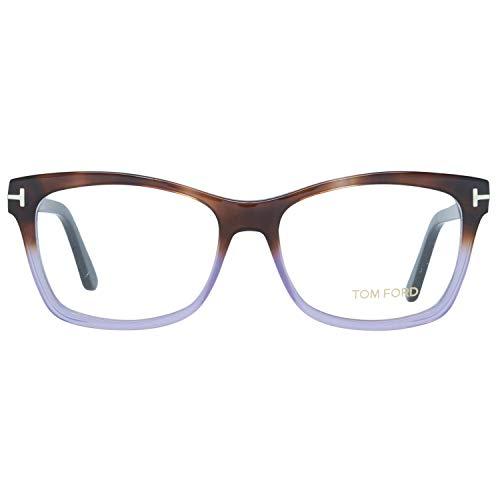Tom Ford FT5424 5356A Tom Ford Brille FT5424 56A 53 Rechteckig Brillengestelle 53, Mehrfarbig