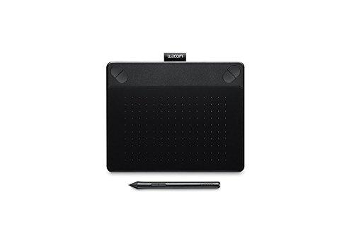 Wacom Intuos Art - Tableta gráfica (2540 lpi, 1024 niveles, incluye bolígrafo), tamaño pequeño, color negro