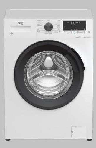 Lavadora con carga frontal de 8 kg, clase A+++, 1400 rpm, motor inverter/vapor, 84 x 60 x 55 cm – Beko WUX81436AI