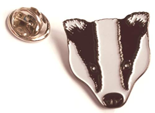 Matfords Badger Head Metal Lapel Pin Badge Pin badge/Lapel Badge •Approximately 20mm x 20mm •Tarnish resistant metal badge •Quality Clutch and Pin fitting
