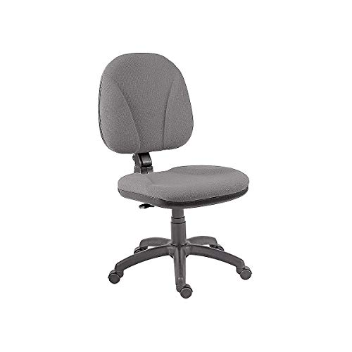 Certeo antistatischer Stuhl ESD | ohne Armlehnen | Grau | Drehstuhl Schreibtischstuhl Computerstuhl höhenverstellbar