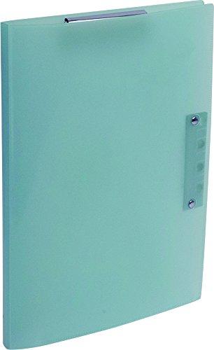 ナカバヤシ 超天才くんファイル2 A4 クリップボード バインダー ブルー CH-6011B