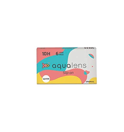 Aqualens 10 H Monthly Disposable Contact Lens (6 Lens per Box) (-3.25)