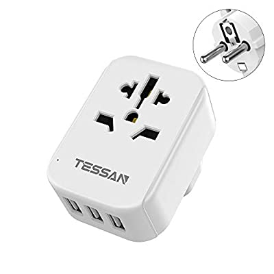 Germany France Travel Power Adapter, TESSAN Eur...