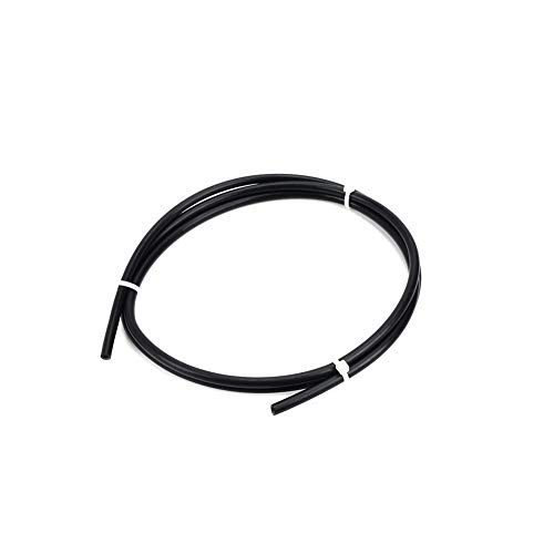 HUANRUOBAIHUO 2 Meter Black PTFE Tube Teflonto TL-Feeder for Rostock Bowden Extruder 1.75mm Fila ID 1.9mm OD 4mm 3D Printer Parts