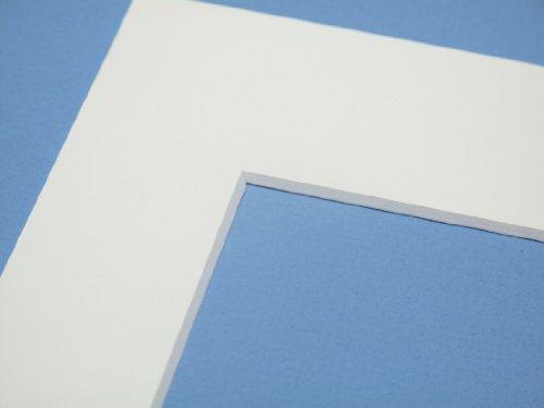 Art & More Passepartout Weiss 18 x 24 cm für Ausschnitt 13 x 18 cm - 1 Stück