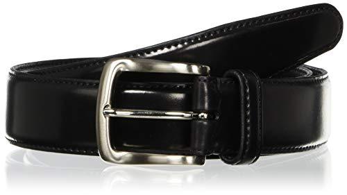 [セパージュ] コードバンベルト ホーウィン社 シェルコードバン カーブベルト CPCP001NT メンズ ブラック 日本 90 (日本サイズL相当)