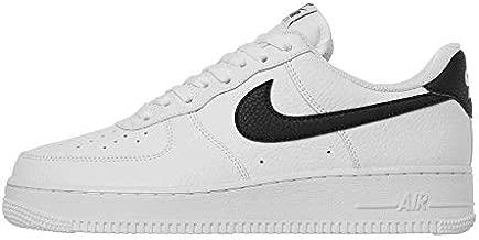 Nike Men's Basketball Shoe, White Black, 10.5