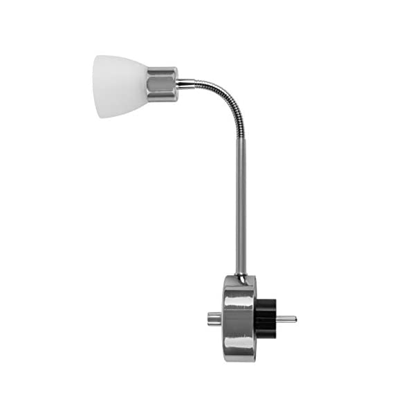 Smartwares-LED-Plug-In-Leuchte-Glas-3-W-silber