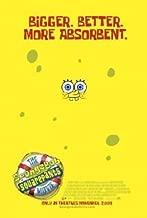 Spongebob Movie Original 27 X 40 Theatrical Movie Poster