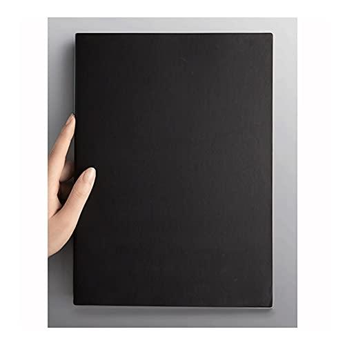 LWSX Cuaderno, Espesado Revista de Rejilla, A4 Classic Wide Diario fallado, Superficie de Cuero Suave Exquisita, Utilizado para...