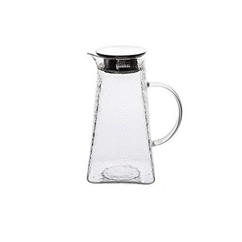 SSSSY Jarra Agua Herramienta de Ministerio del Interior 1.2L / 1.5L / 1.8L Jarra de Cristal Jugo Caldera de té del café del Jugo Tetera de café Jarra de Flores Juego de té de Puer Caldera
