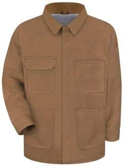 Bulwark Men's Heavyweight FR Brown Duck Lineman's Coat