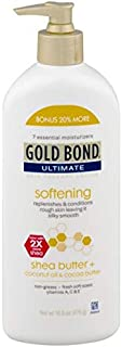Gold Bond Ultimate Softening Skin Therapy Lotion with Shea Butter - 16.8 oz
