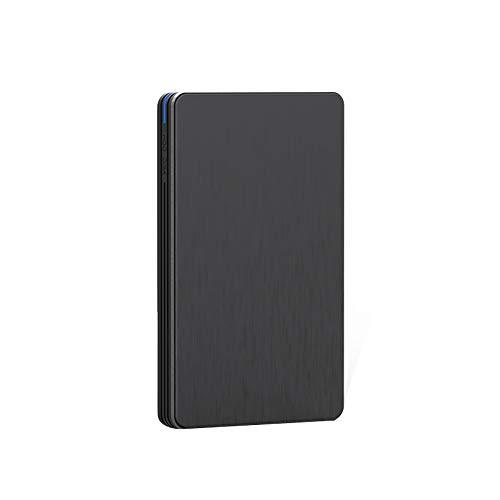 ALRY Hard Disk Disk Esterno Rigido USB 3.0 HDD HD 1 TB 2 TB 500 GB 320 GB Externo Disque Dur Externe Disco Duro Externo 1TB Hard Disk,Nero,2TB