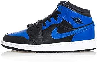 Nike Boy's Basketball Shoe, Black Hyper Royal White, 6.5 Big Kid