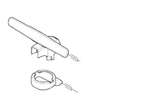 Kärcher 4.633–039.0–Antennen-Pad Voll F. Ersatz