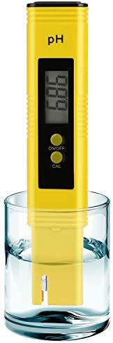 PH Meter for Water Hydroponics Digital PH Tester Pen 0 01 High Accuracy Pocket Size with 0 14 product image