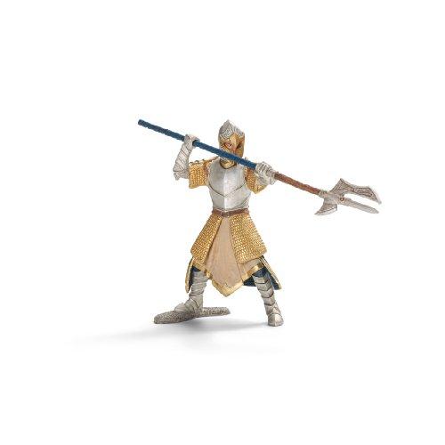 Schleich - Caballero del Grifo con Lanza-Hacha, Figura Pintada a Mano (70113)