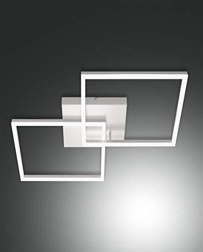 FABAS LUCE 3394-65-102 BARD PLAFONIERA LED DIMMERABILE BIANCA 52W 4680lm WARM