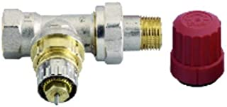Danfoss - Grifería gas de radiador - Cuerpo de ajuste recto RA-N15 1/2