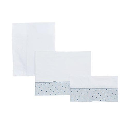 Cambrass Stela - Bettlaken für Liegewanne, 3 Stück