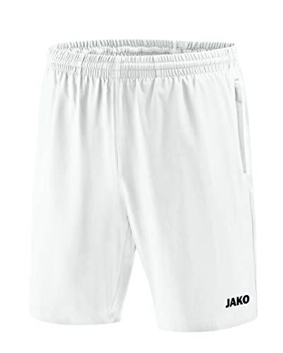JAKO Pantalones Cortos Profesional y Faldas, Todo el año, Infantil, Color weiß, tamaño 128