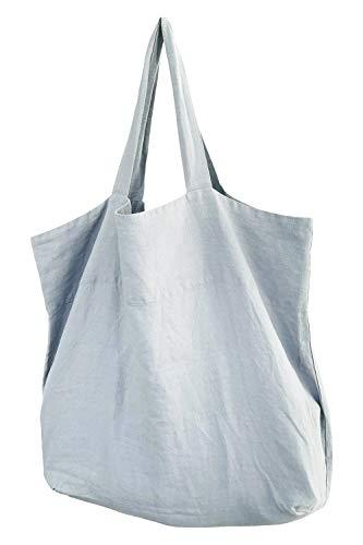 Stella Luzia Marie hochwertige Leinentasche (100% Leinen Made in EU) Grey