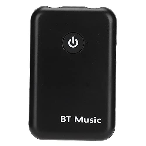 Receptor Bluetooth para Automóvil, Adaptador Auxiliar Bluetooth 2 En 1 Receptor Transmisor Inalámbrico Adecuado para TV PC Sistema Estéreo De Transmisión De Música En Casa