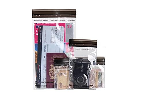 Lifeventure 59230 DriStore LocTop Bags-for Valuables Unisex-Adult, Transparent, Taille Unique