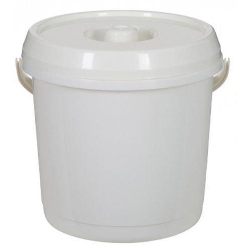 14L Plastic Bucket With LID 3 Gallons Baby Nappy Bucket/Bin Storage,...