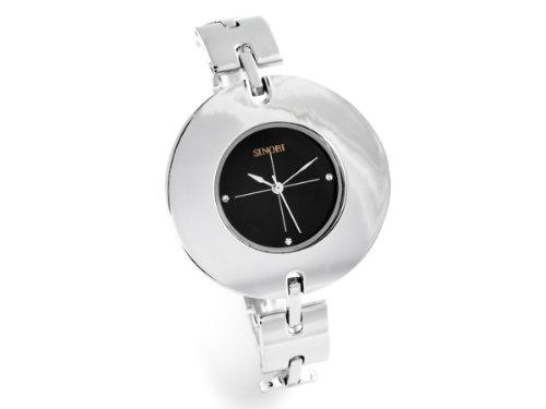 Sinobi Damen-Armbanduhr XS Analog Quarz Edelstahl beschichtet 911/N