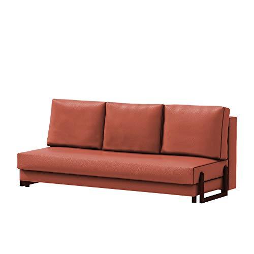 Selsey Sofabed, Orange, DREI Sitze