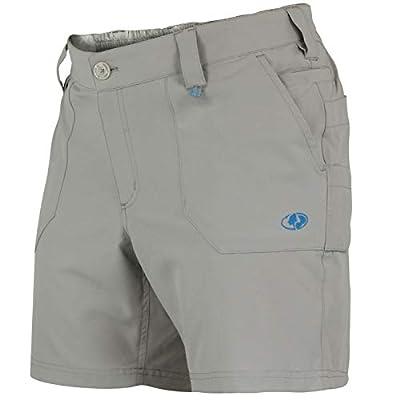 Mossy Oak Womens Fishing Shorts, Stretch, Quick Dry Shorts for Women