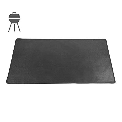 Hongzhi - Alfombra de chimenea antifuego, alfombra para barbacoa, suelo, alfombra de protección de suelo, resistente al calor, alfombra protectora de patio de barbacoa, ignífuga, resistente al calor